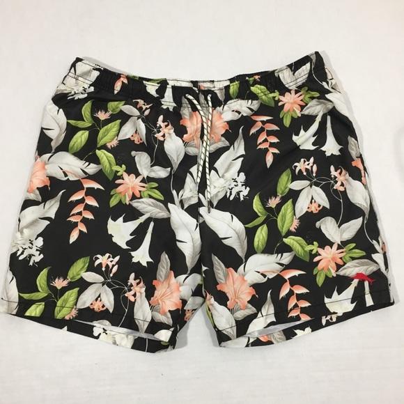2a52a2697a Tommy Bahama Swim | Mens Floral Trunks Shorts Xl | Poshmark